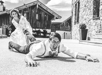 Hochzeitsfotografie in Tirol mal anders